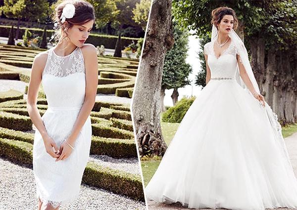Lyhyt vai pitkä mekko – kuinka sinä pukeudut hääpäivääsi  14384d749e