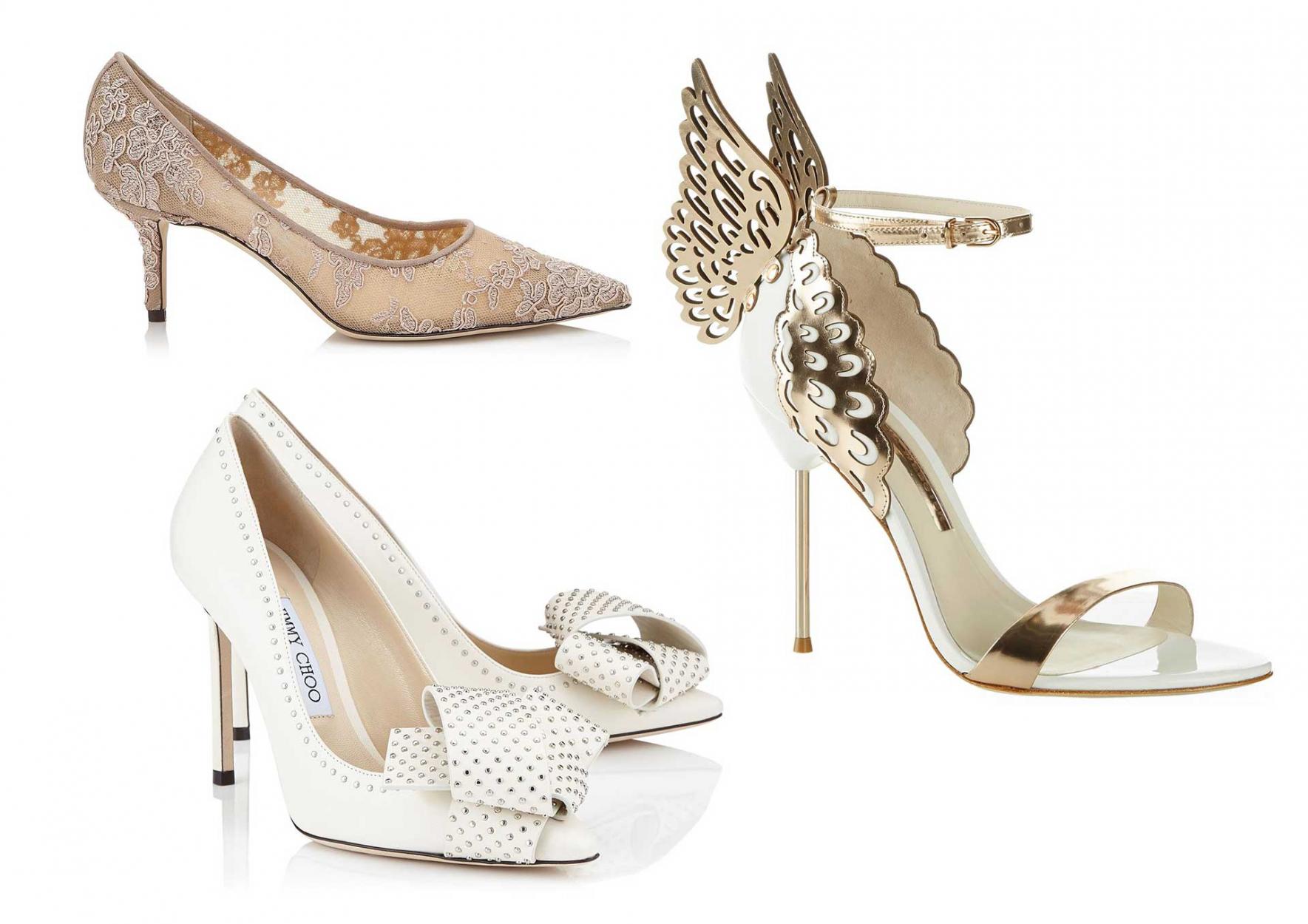 morsiamen kengät ja tarvikkeet
